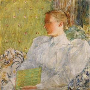 Portrait of Edith Blaney (Mrs. Dwight Blaney) 1894 by Childe Hassam