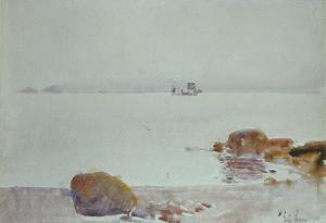 Seascape by Childe Hassam