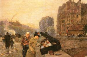 St Michel by Childe Hassam