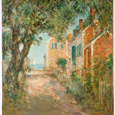 Street in Provincetown, 1904