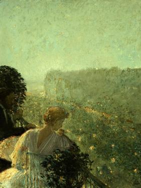 Summer Evening, Paris by Childe Hassam