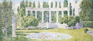 The Bartlett Gardens, Amagansett, 1933 by Childe Hassam