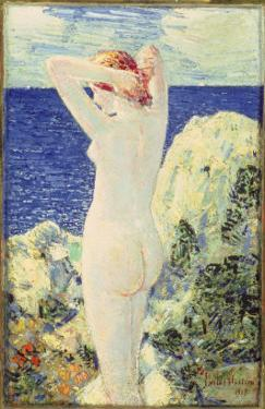 The Bather, 1915 by Childe Hassam