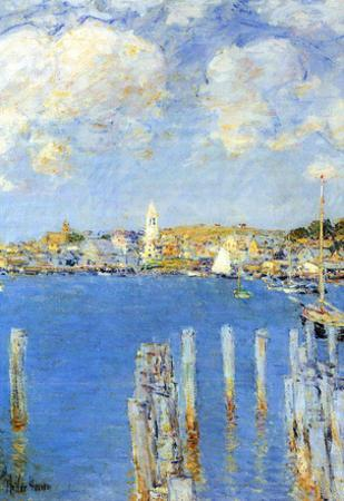 Childe Hassam The Inland Port of Gloucester Art Print Poster