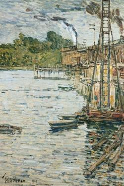 The Mill Pond, Cos Cob, Connecticut, 1902 by Childe Hassam