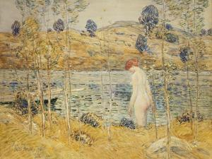 The River Bank, 1906 by Childe Hassam