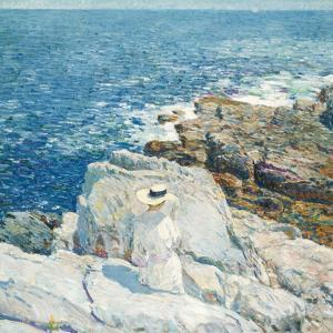 The South Ledges, Appledore, 1913 by Childe Hassam