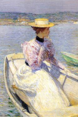 White Dory by Childe Hassam