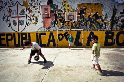 Children from La Boca