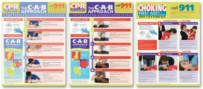 Children's First Aid Poster Set -3
