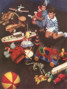 Children with Lots of Toys