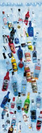 Chill Out (Vodka Selection) Art Poster Print