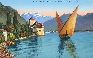 Chillon Castle, Lake Geneva, Switzerland