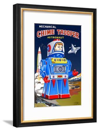 Chime Trooper--Framed Masterprint