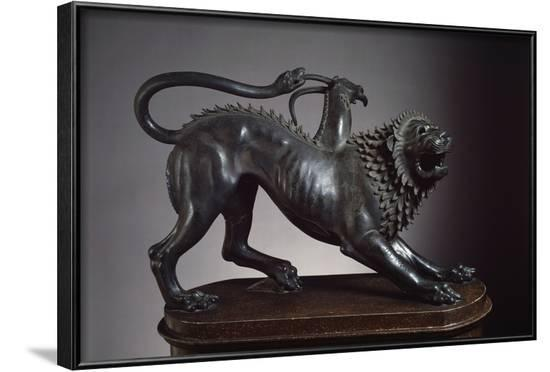 Chimera of Arezzo, Slain by Bellerophon--Framed Photographic Print