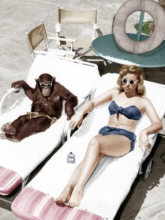 https://imgc.allpostersimages.com/img/posters/chimpanzee-and-a-woman-sunbathing_u-L-Q1BW3AJ0.jpg?p=0