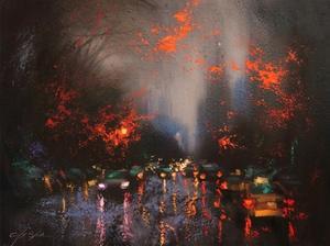 Rainy Day 6 by Chin H. Shin
