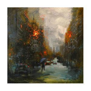 Rainy in South Manhattan by Chin H. Shin