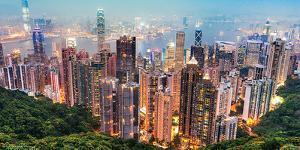 China- Hong Kong From Victoria