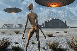 China Lake Military Base Where Aliens and Humans Work Together