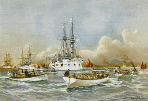 China Warships 1897