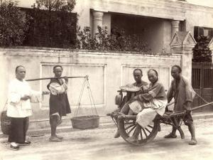 China, Wheelbarrow Transport and Pedlars