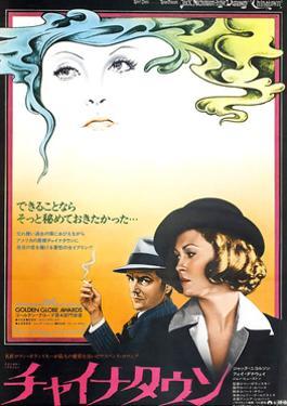 Chinatown, Jack Nicholson, Faye Dunaway, 1974