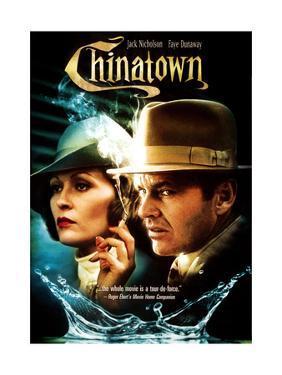 Chinatown, L-R: Faye Dunaway, Jack Nicholson, 1974
