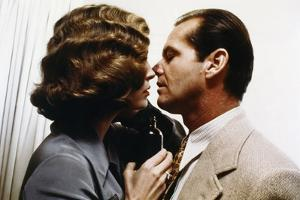 CHINATOXN, 1974 directed by ROMAN POLANSKI Faye Dunaway and Jack Nicholson (photo)