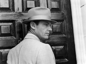 CHINATOXN, 1974 directed by ROMAN POLANSKI Faye Dunaway (b/w photo)