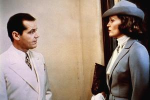 CHINATOXN, 1974 directed by ROMAN POLANSKI Jack Nicholson and Faye Dunaway (photo)