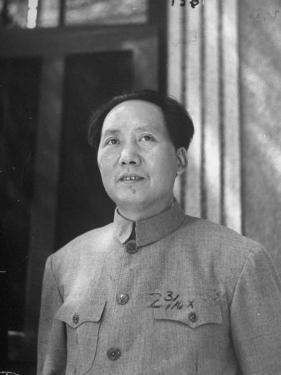 Chinese Communist Ldr. Mao Tse Tung