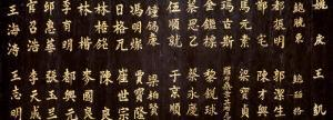 Chinese Ideograms, Temple, Beijing, China