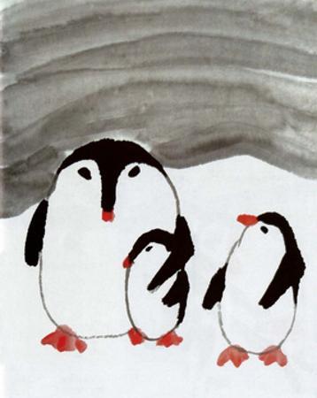 Chinese Penguin Family