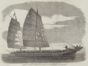Chinese Pirate-Boat at Canton