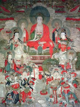 Buddhas, 1675 by Chinese School