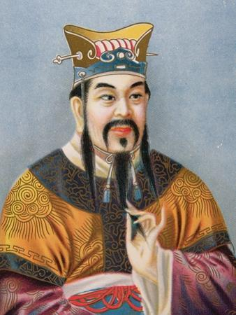 Confucius by Chinese School