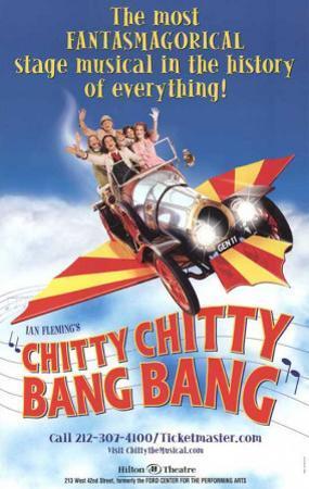 Chitty Chitty Bang Bang - Broadway Poster