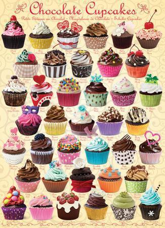 Chocolate Cupcakes 1000 Piece Puzzle