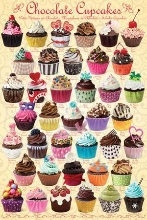 Chocolate Cupcakes Sweet Collection