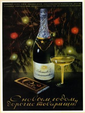 Chocolate Slava - Glory Champagne