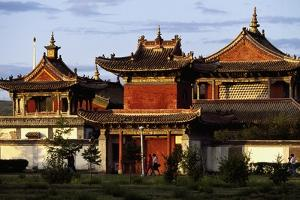 Choijin Lama Monastery, Now Converted into Museum, Ulan Bator (Ulaanbaatar), Mongolia, 20th Century