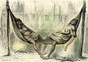 Chontaquiros Couple 1869, Peru