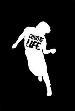 Choose Life Dancing Silhouette