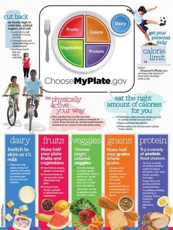Choose Myplate Vertical Poster