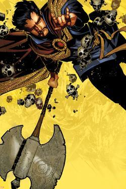 Doctor Strange #1 Cover Featuring Dr. Strange by Chris Bachalo
