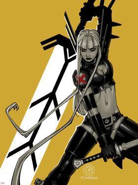 Uncanny X-Men #4 Cover: Magik by Chris Bachalo