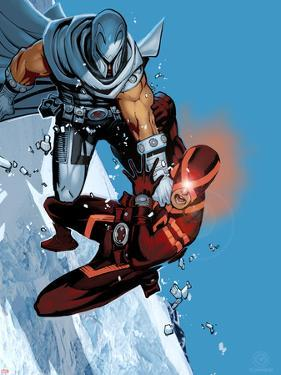 Uncanny X-Men #8 Coover: Magneto, Cyclops by Chris Bachalo