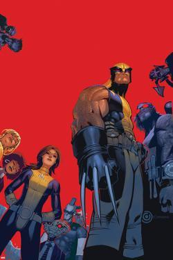Wolverine & The X-Men No.1 Cover: Wolverine, Kitty Pryde, Beast by Chris Bachalo