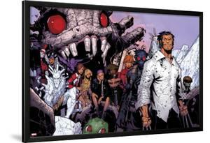 Wolverine & The X-Men No.3: Iceman, Kitty Pryde, Quentin Quire, Broo, Beast, Wolverine, and Others by Chris Bachalo